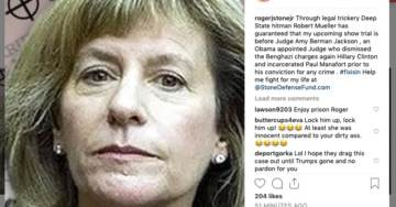 HOAXED: Media Falsely Claims Stone Shared Image of Corrupt Judge Amy Berman Jackson In Crosshairs (Updated)