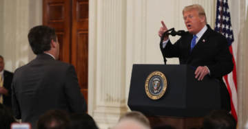 HA! CNN's Acosta: 'Never Witnessed' News Outlet Trying 'To Damage One Particular Party'