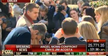 ANGEL MOMS Surround and Confront CNN's Activist-Reporter Jim Acosta After Press Conference on Border Security (VIDEO)