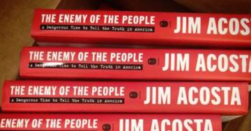 """Blowhard Jim Acosta's Book """"Enemy of the People"""" Already 40% Off – Drops to #268 on Amazon in Its First Week"""