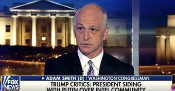 "Democrat Adam Smith's Blatant Lie to Tucker Carlson: ""12 Indicted Russians Had Regular Contact with High-Ranking Trump Officials"" (VIDEO)"