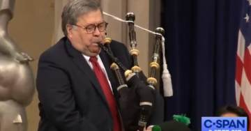MUST SEE VIDEO: Attorney General Bill Barr Plays the Bagpipes Before Opening Remarks at US Attorneys National Conference