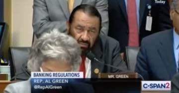 """House Democrat to Top Bankers: """"You Appear to Be White Men"""" (Video)"""