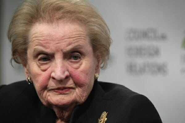 DISGUSTING. Madeleine Albright Compares Trump Admin to Nazis and Soviet Communists (VIDEO)