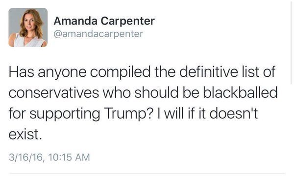 amanda carpenter blackballed