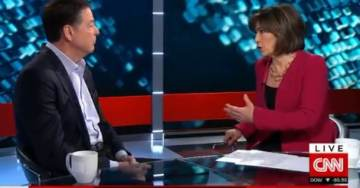 """MEDIA GOES FULL COMMIE: Christiane Amanpour Asks James Comey Why He Didn't Shut Down """"Lock Her Up"""" Chants at Trump Rallies (VIDEO)"""