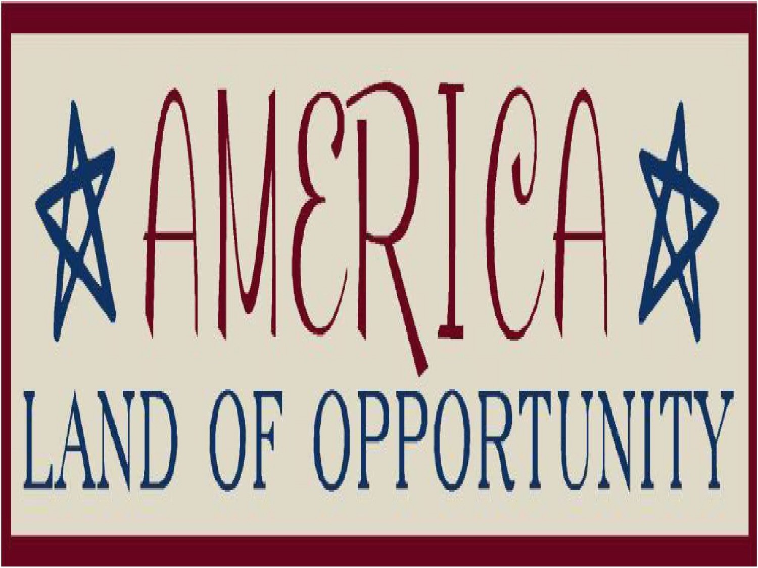 america opportunity