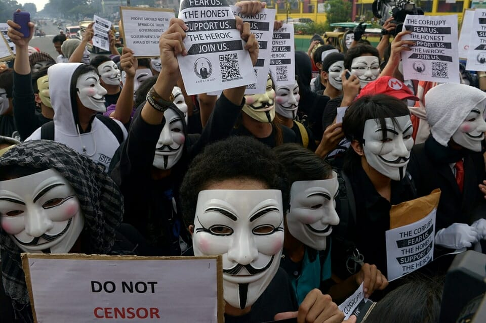 anonymous march