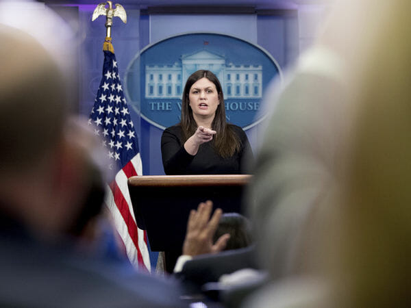 EXCLUSIVE BREAKING REPORT: Sarah Huckabee Sanders To Replace Sean Spicer As WH Press Secretary