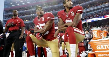 Report: NFL Considers 15-yard Penalty for Kneeling During National Anthem