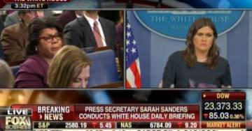 ZING! Sarah Huckabee Sanders Takes Down Far Left Hack April Ryan and Crooked Hillary in ONE SENTENCE (Video)