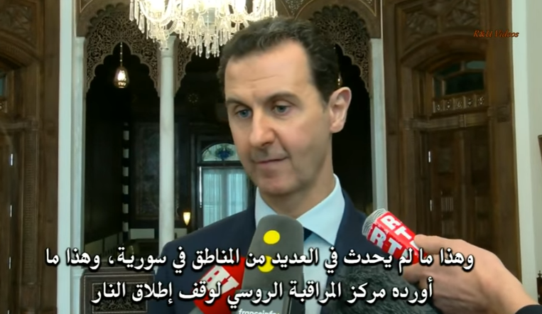 "Syrian President Says Some Syrian Refugees Are ""Definitely"" Terrorists!"