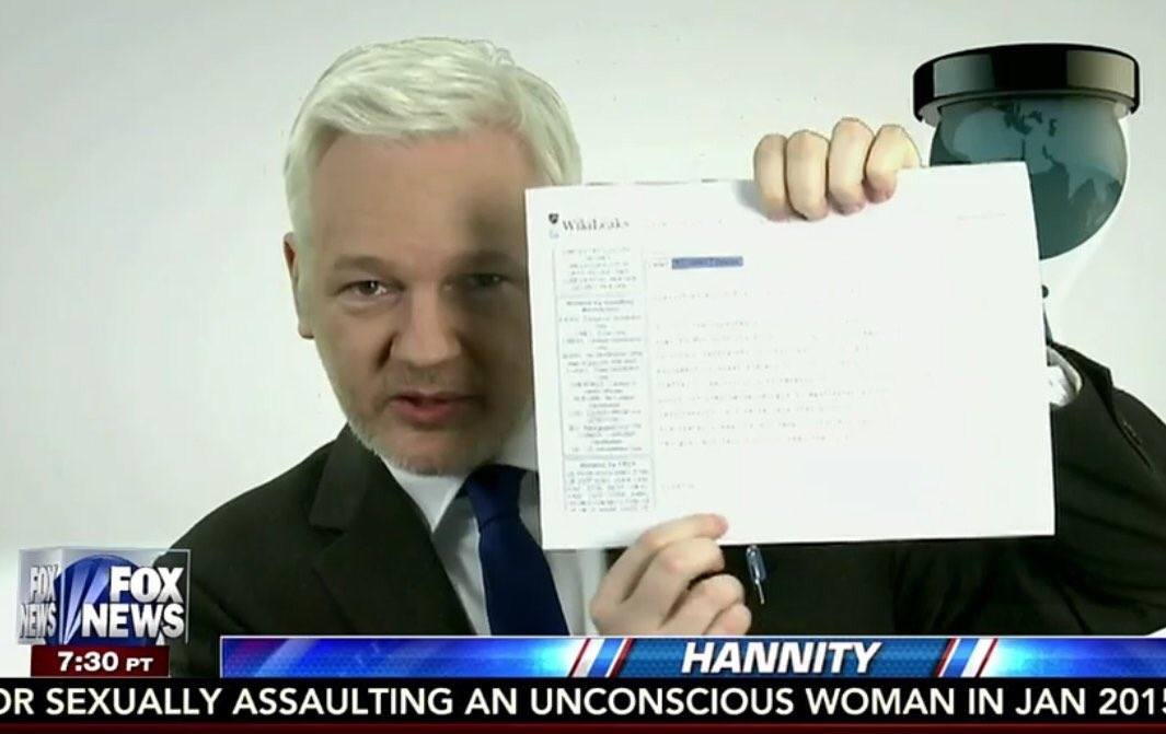 assange cable hillary