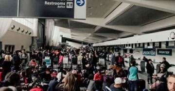 POWER GOES OUT At World's Busiest Airport- All Flights Grounded in Atlanta – SMOKE in Terminals …Update: Interstate Shut Down!