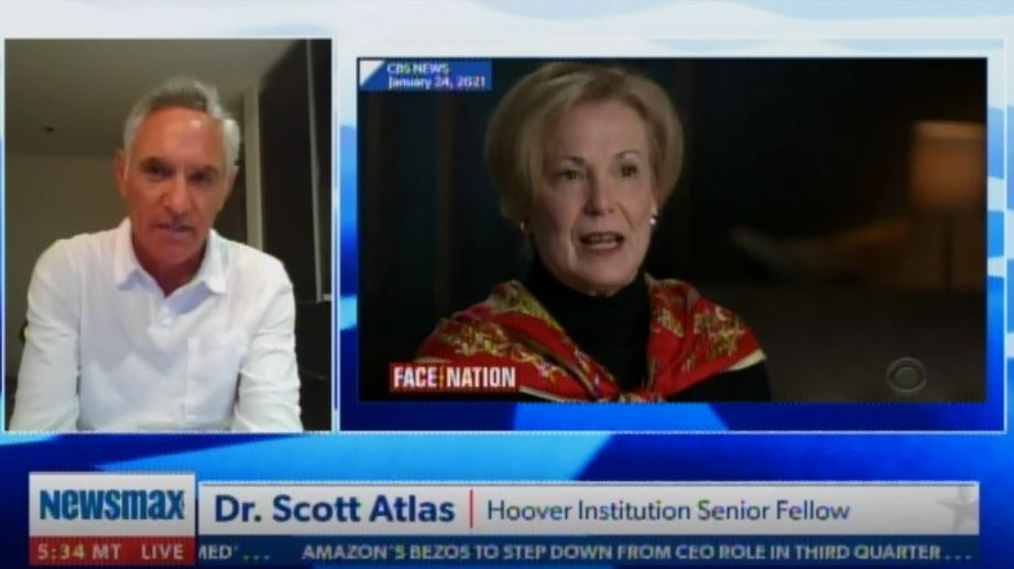 """That Is an Outrageous, Vicious Lie!"" – Dr. Scott Atlas DESTROYS Dr. Birx after Her Disgusting Attacks in CBS Interview (VIDEO)"