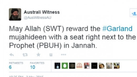 australi witness tweet