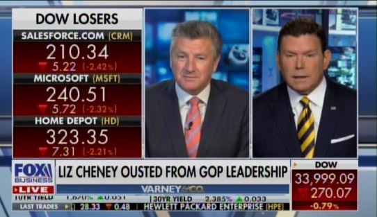 FOX News Anchor Bret Baier: Liz Cheney Probably Got Support Based on this Move – 100 GOP Lawmakers May Form New Party (VIDEO)