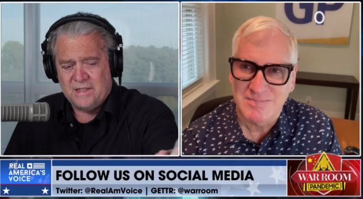 Steve Bannon Invites The Gateway Pundit's Jim Hoft on to Share Exciting News About the Website (VIDEO)