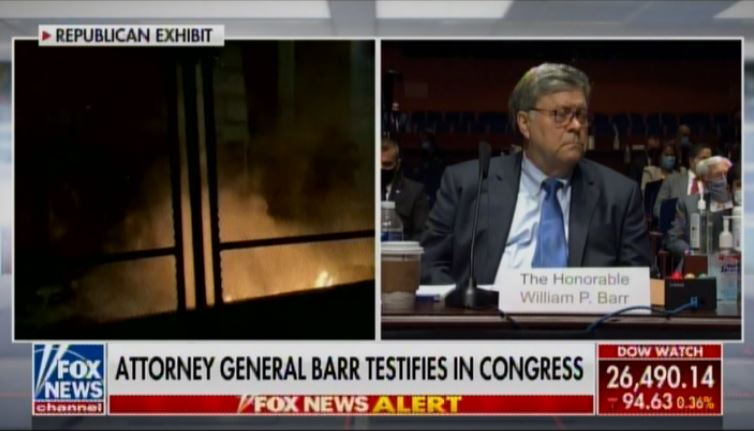 BRUTAL! Jim Jordan Opens AG Barr Hearing with DEVASTATING VIDEO on Leftist Violence, Looting and Rioting in the Streets of America (VIDEO)