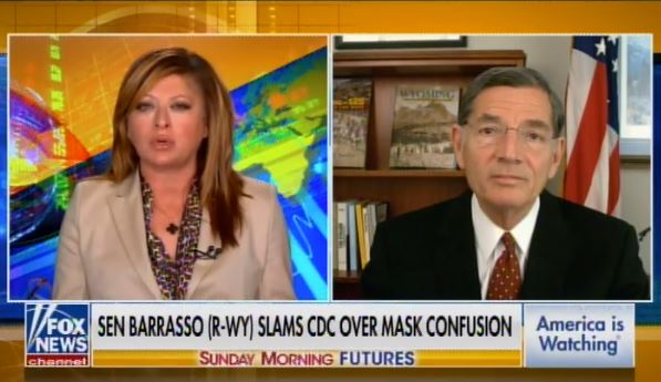 Sen. John Barrasso: Democrats' No. 1 Goal Is Passing S1 where You Don't Need to Have a Voter ID Anymore - Making It Easier for Democrats to Cheat (VIDEO)