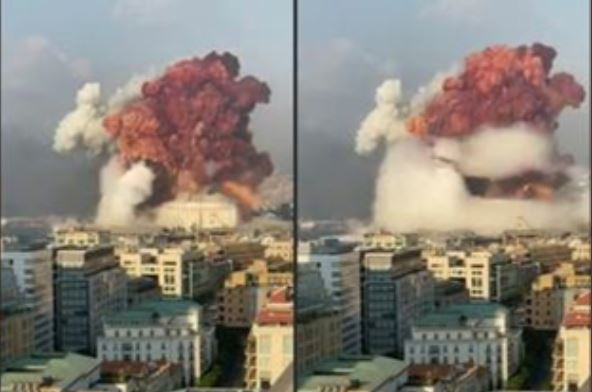 Italian Explosives Expert: The Beirut Blast's Massive Red Cloud is Indicative of Lithium Metal Which is a Propellant in Military Missiles — IT WAS AN EXPLOSIVES STORAGE FACILITY