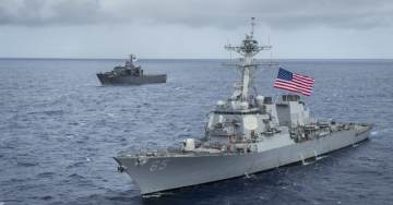 US Warship Rams Into Japanese Tug Boat in Latest Navy 7th Fleet Mishap