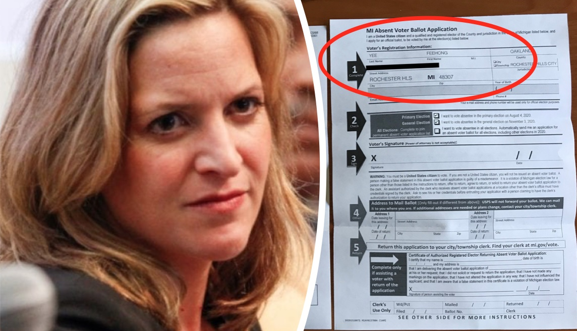 "WE HAVE EVIDENCE! MI Radical Sec of State Sent Absentee Ballot Application To Foreign Student Who Attended College In MI For 3 Years…Returned To Taiwan in 2004…Her Name STILL Remains On ""Qualified Voter"" List"