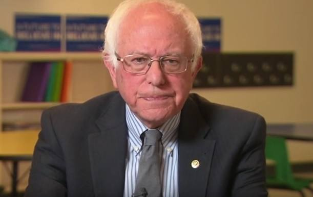bernie pissed angry