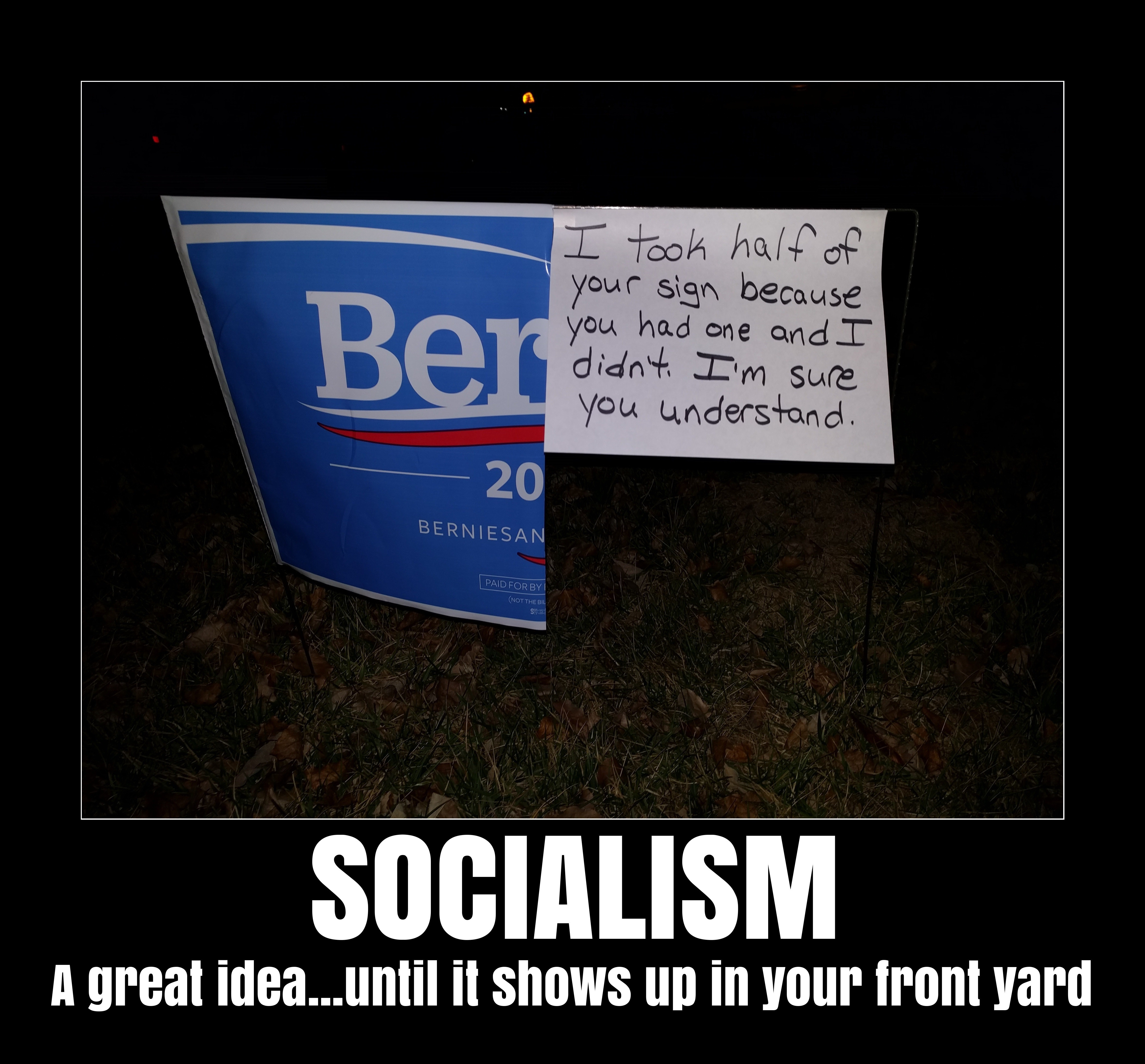 bernie sign illinois