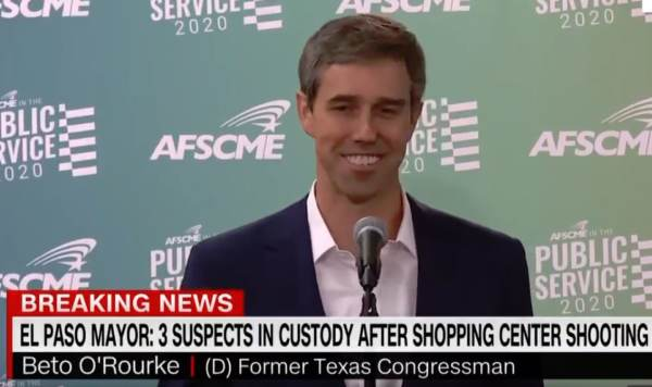 FALSE FLAGS? - 7 Questions that Challange the Official Narrative About the El Paso Wal-Mart Shooting plus more Beto-laughing-shooting-600x356