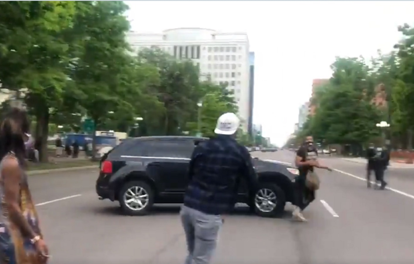 Denver Riot Out of Control: Protester Run Over After Jumping on Woman's Car, Gun Shots Fired Towards Capitol (VIDEO)