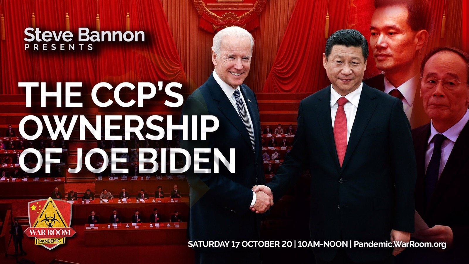 Chinese Group Behind Release of Biden Tapes Claim Bidens Offered Up CIA Agents Who Went Missing in China in 2010 -2012