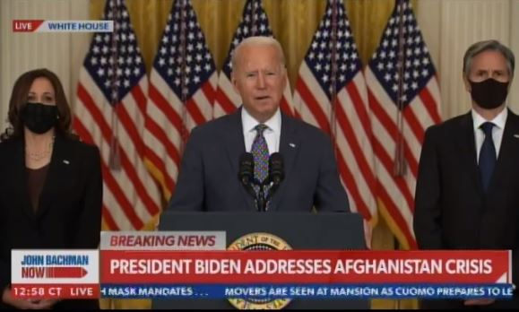 Foreign Media Reporting on Biden's Afghanistan Dumpster Fire