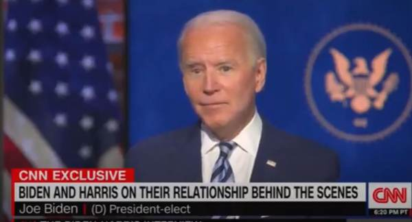 """Basement Biden to CNN: If Kamala and I Disagree on Principle – """"I'll Develop Some Disease and Say I Have to Step Down"""" (VIDEO)"""