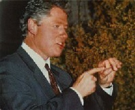 bill clinton hole