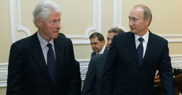 PHOTOS: Bill Clinton Met with Vladimir Putin AT HIS HOME IN RUSSIA Before Uranium One Deal and After Being Bribed