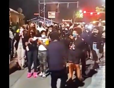 It Begins: Black Lives Matter Mob Demands White People Move Out of Homes and Leave Them for Black People (VIDEO)