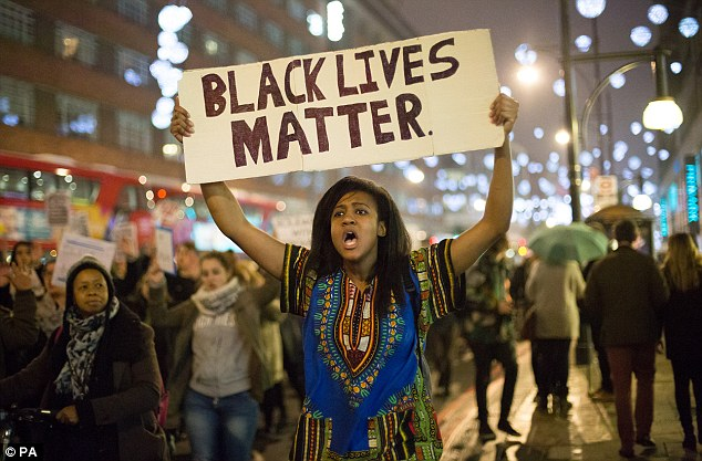 Image result for black lives matter protesters