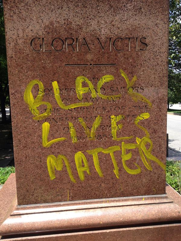 black lives matter baltimore