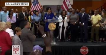 DC Mayor Holds Press Conference on How to Save Black Lives – #BlackLivesMatter Protesters Shut It Down (VIDEO)