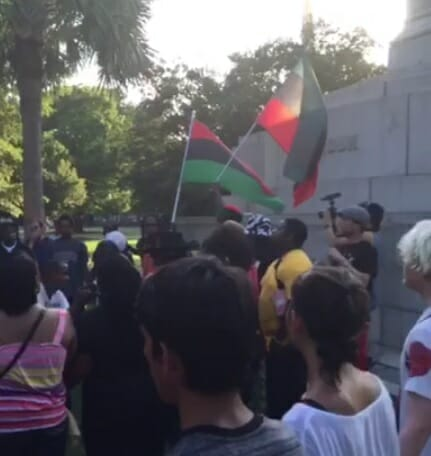 black nationalist flag charleston
