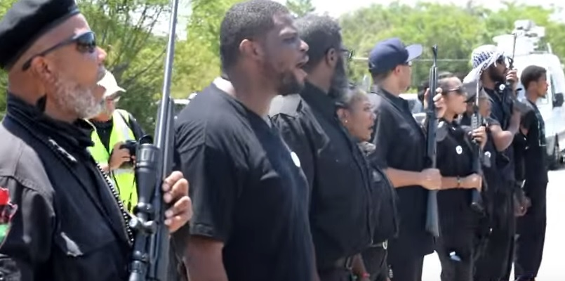 black panthers rally texas