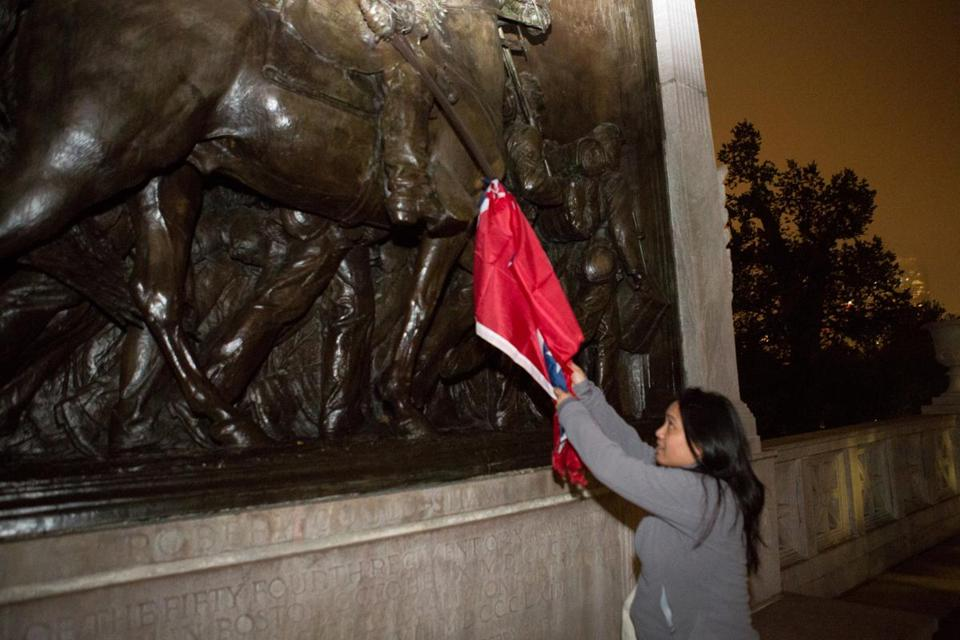 FAKE HATE: Black Activist Admits Hanging Confederate Flag from Black Soldier Memorial