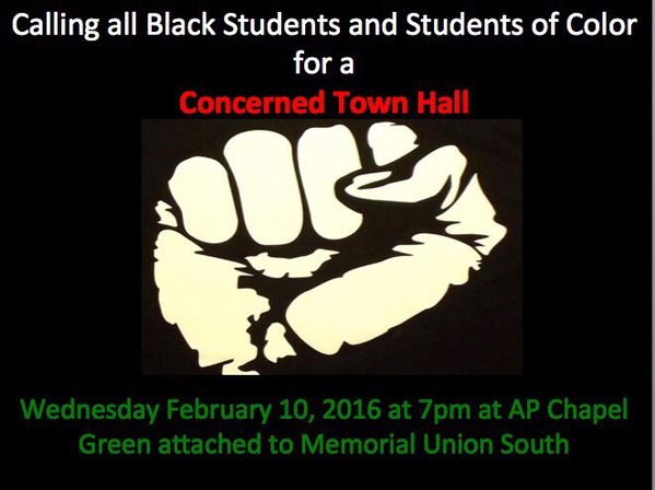 black student protest