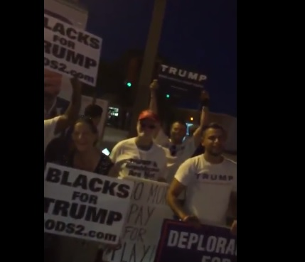 blacks-for-trump-protest