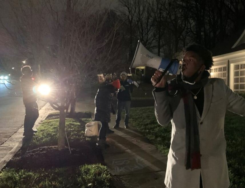 VIOLENT LEFTIST MOB Swarms and Attacks Senator Hawley's DC Home — Pounding on Door, Screaming Threats — Terrorizing His Wife and Newborn Baby