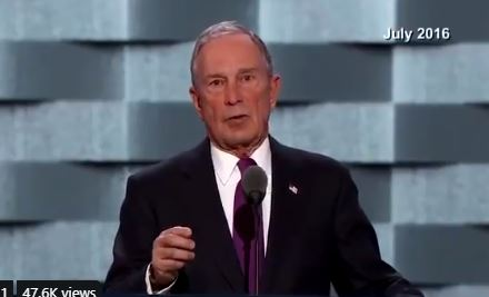 BREAKING: Former NYC Mayor Bloomberg Officially Enters 2020 Presidential Race to Lukewarm Reception