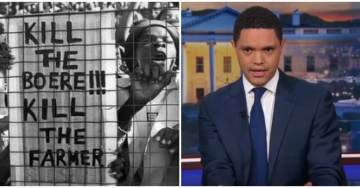 Trevor Noah Compares Trump To African Dictators – While He Ignores South African Genocide