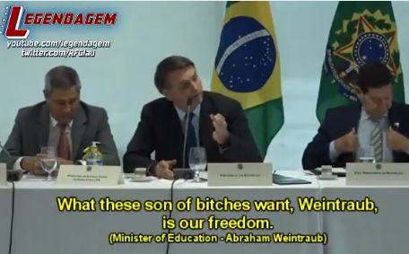 """What These Sons of Bitches Want Is Our Freedom!"" – Leaked Jair Bolsonaro Speech Goes Viral and It's MAGNIFICENT! (Video)"