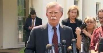 "Breaking: US National Security Advisor John Bolton on Military Force in Venezuela: ""All Options Are on the Table"" (VIDEO)"